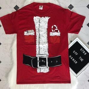 NWT Fruit of the Loom Santa's shirt size S, L
